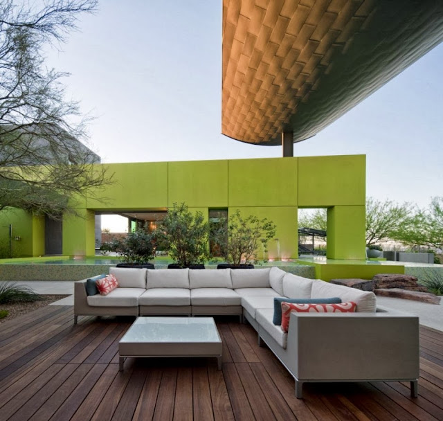 colorful outdoor lounge furniture