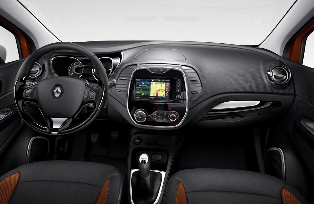 Renault Captur 2014 Interior Renault Captur Interior