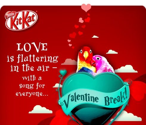 valentine break by KitKat