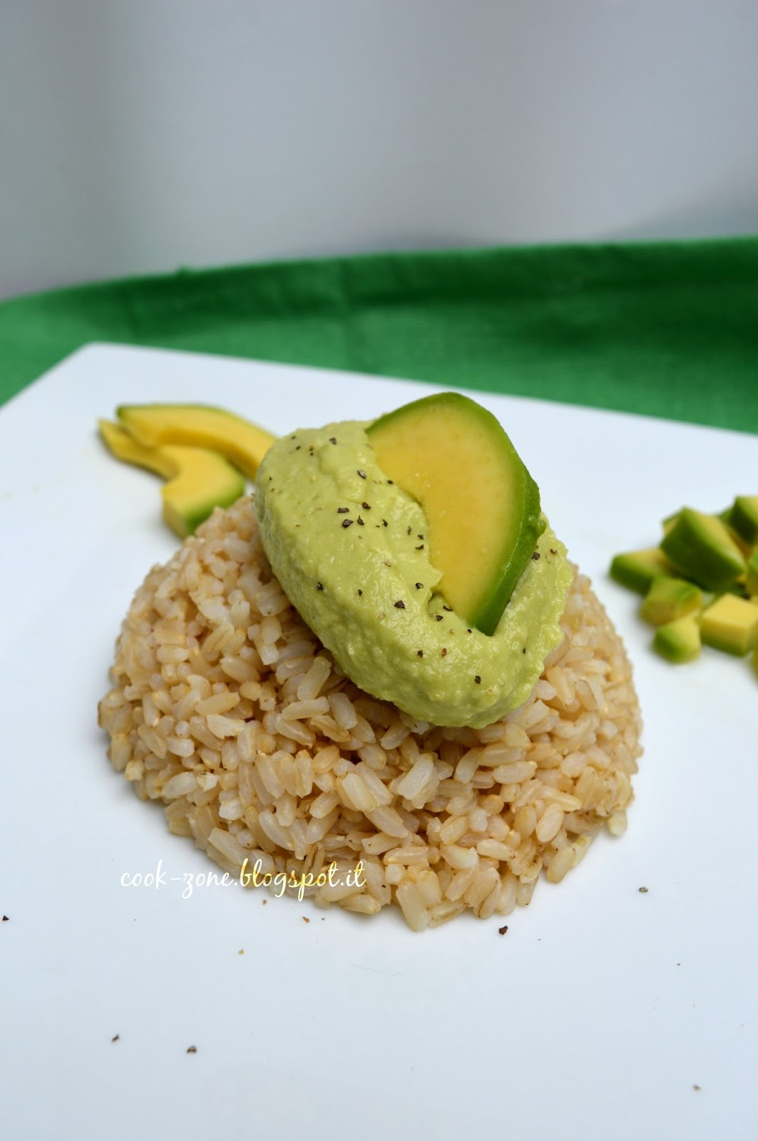 Riso Integrale Con Pesto Di Avocado #134010 1063 1600 Cucina Etnica A Londra