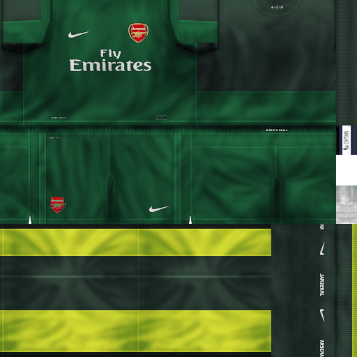 Kits Arsenal 2012/2013 - PES 6