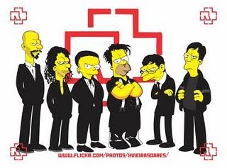 Rammstein nos Simpsons
