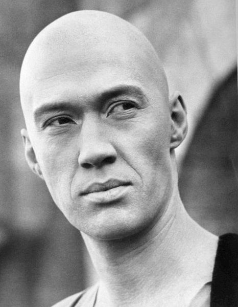 David Carradine starred as Caine in Kung Fu from 1972 to 1975.