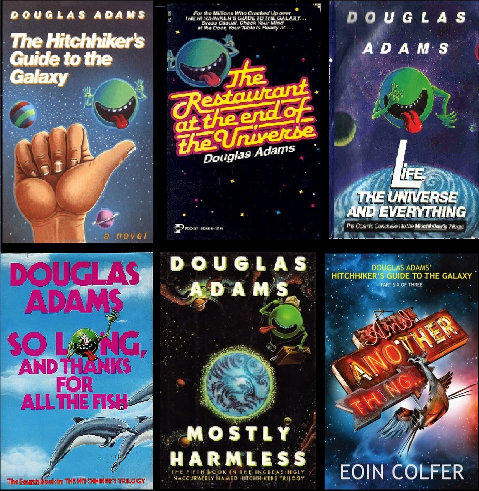 a review of the science fiction series the hitch hikers guide to the galaxy by douglas noel adams Just read books 1-4 of the hitchhiker's guide to the galaxy for the douglas adams and thanks for it's also nice because the different sub-series intersect.
