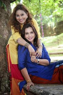 Gayathri Dias and Nayana Kumari best friends