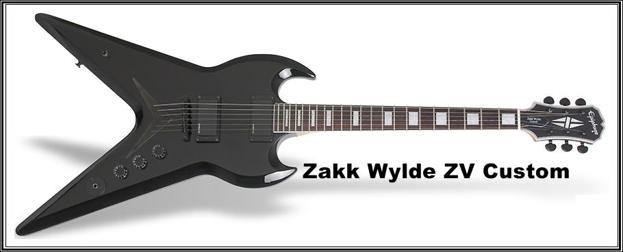 Epiphone Zakk Wylde ZV CustomZakk Wylde Flying V Guitar