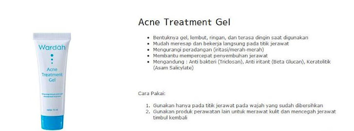 Acne Treatment Gel - $8