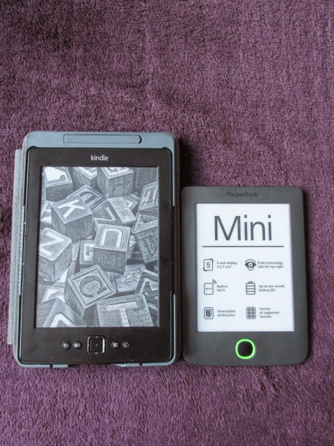 Kindle 5 vs PocketBook Mini 515