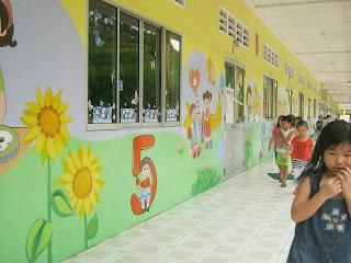 Vẽ tranh tường mầm non chuyên nghiệp