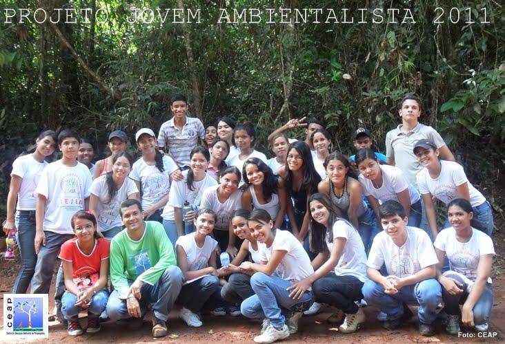 Projeto Jovem Ambientalista turma de 2011 - 6ª turma