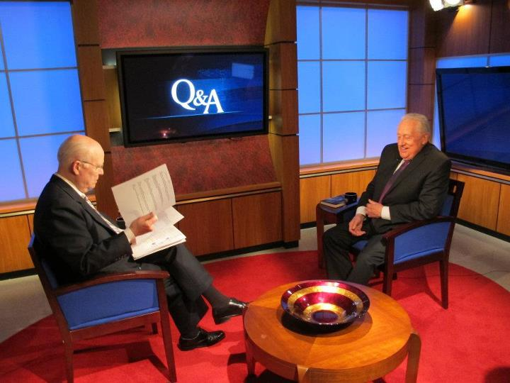 C-SPAN CEO Brian Lamb & Agent Clint Hill 5/3/12 (program aired 5/27/12+)