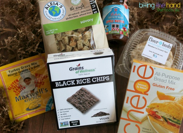 November Cuisine Cube curated gluten-free subscription box