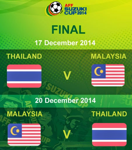 Live streaming Malaysia Vs Thailand 20 Disember 2014
