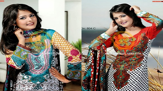 Dawood Summer Lawn Collection 2014