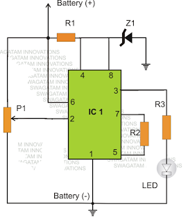 Door alarm door alarm using ic 555 door alarm using ic 555 images sciox Images