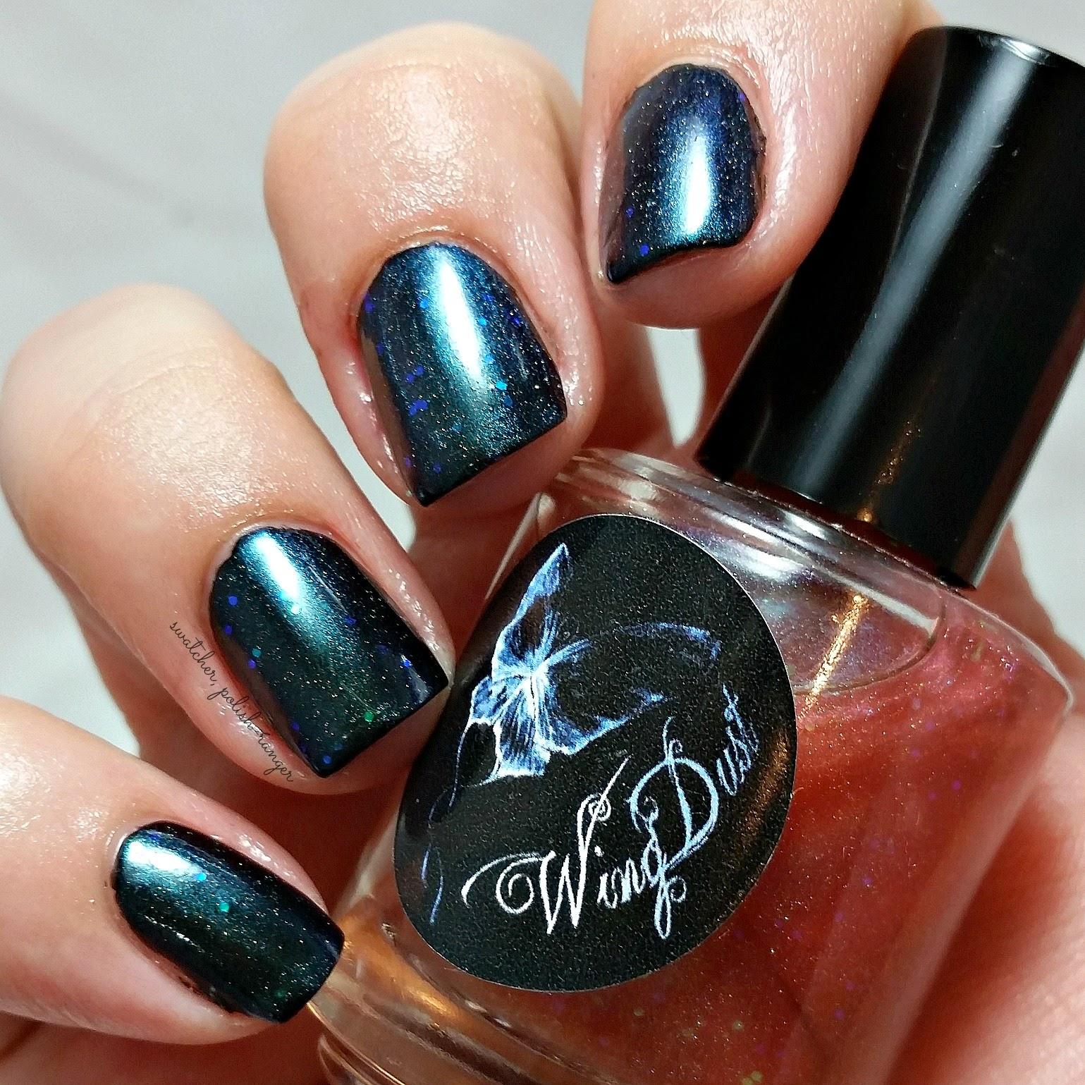 swatcher, polish-ranger | Wingdust Collections Aurora Sky swatch