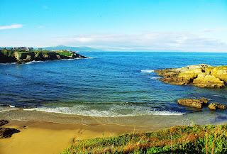 Tapia de Casariego, playa de Anguileiro