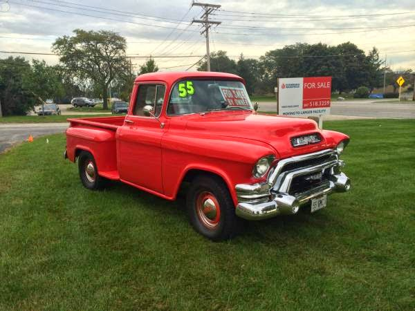 1955 gmc 2nd series 100 pickup truck auto restorationice. Black Bedroom Furniture Sets. Home Design Ideas