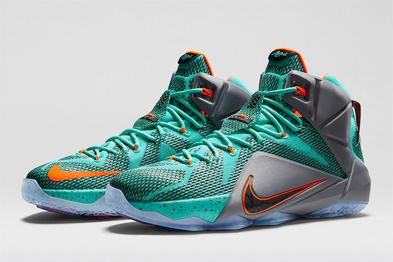 Nike LeBron XII 'NSRL' Sneakers