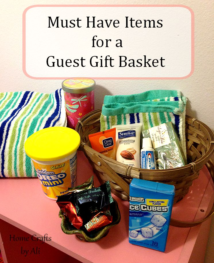 Must Have Items for a Guest Gift Basket