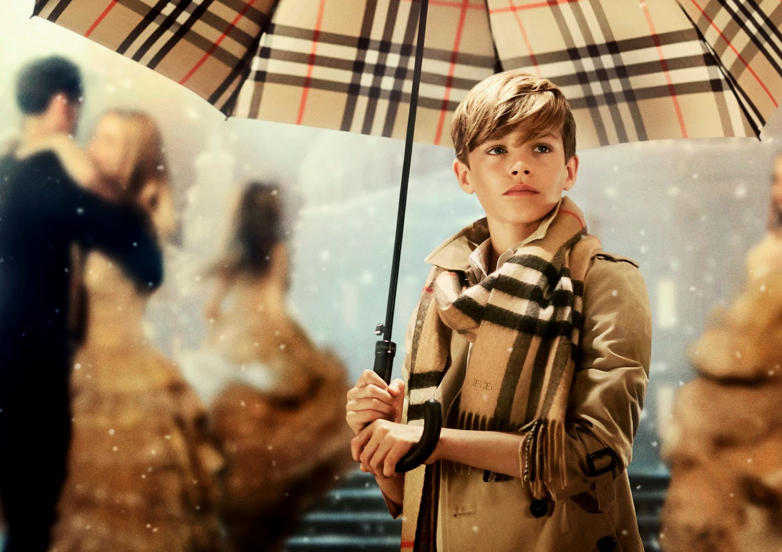Burberry's Festive Campaign Starring Romeo Beckham Has Landed!