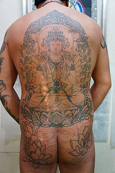千手観音 刺青 タトゥー 和彫り TATTOO