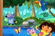 Dora Puzzle Oyunu