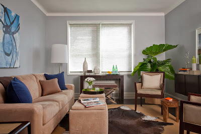 Frances Herrera Interior Design cozy lounge area design