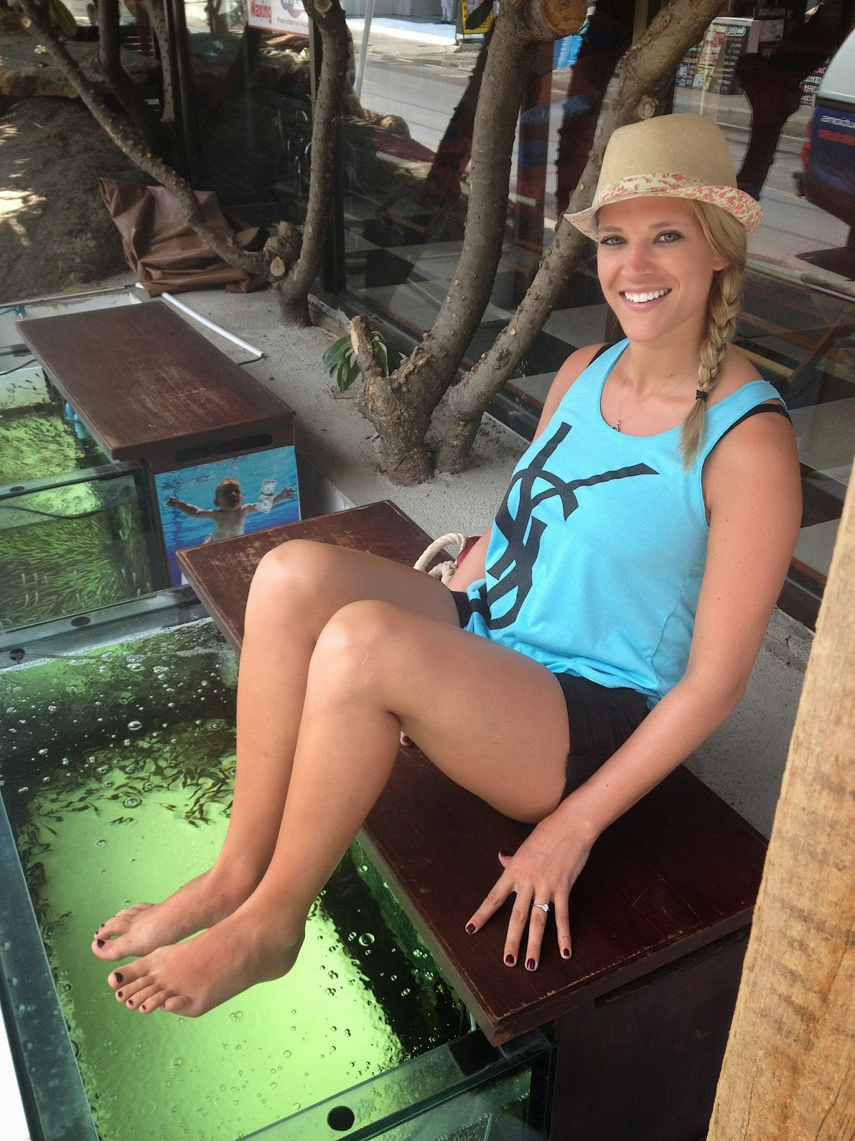 fish spa in Koh Samui Thailand honeymoon