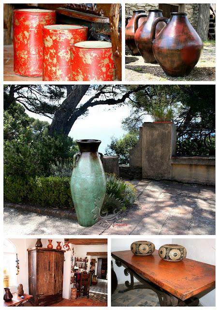 meubles, décoration, poteries en solde