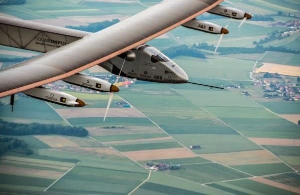 To ηλιακό αεροπλάνο Solar Impulse 2