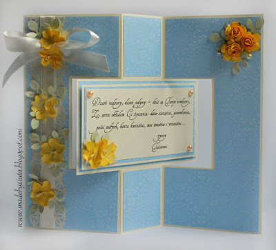 scrapbooking kartka swing card making