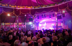 The Courier Mail Spiegeltent at the Brisbane Festival