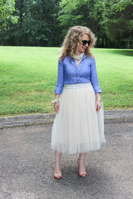 Lawyer lookbook, lawyer look book, tulle, tulle skirt, Steve Madden, J. Crew, Ann Taylor