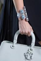 Масивна гривна с големи камъни Dior пролет-лято 2013