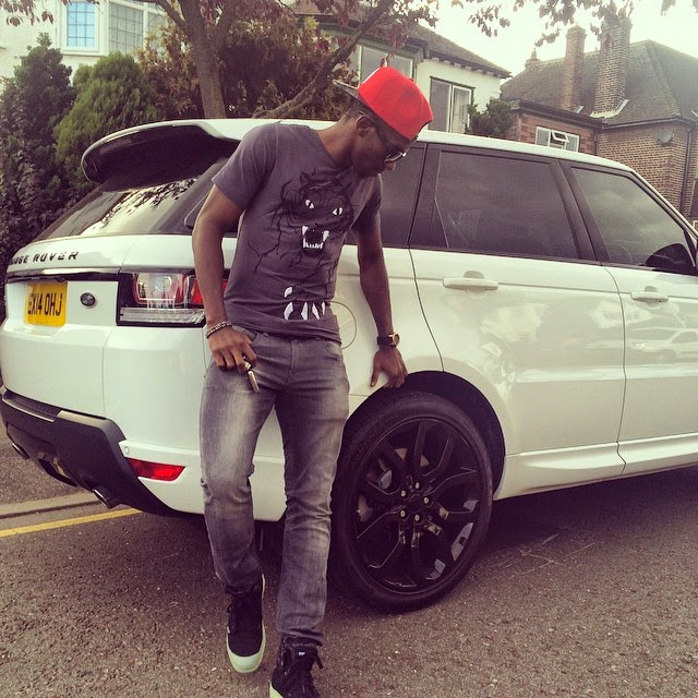 Check out Kenneth Omeruo's New Ride