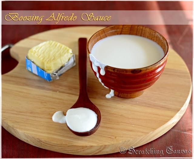 Easy Quick Alfredo Sauce