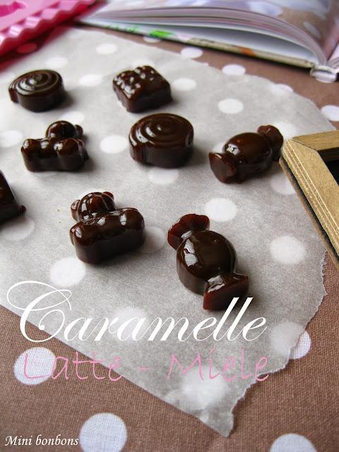 caramelle al miele e latte • honey and milk candies