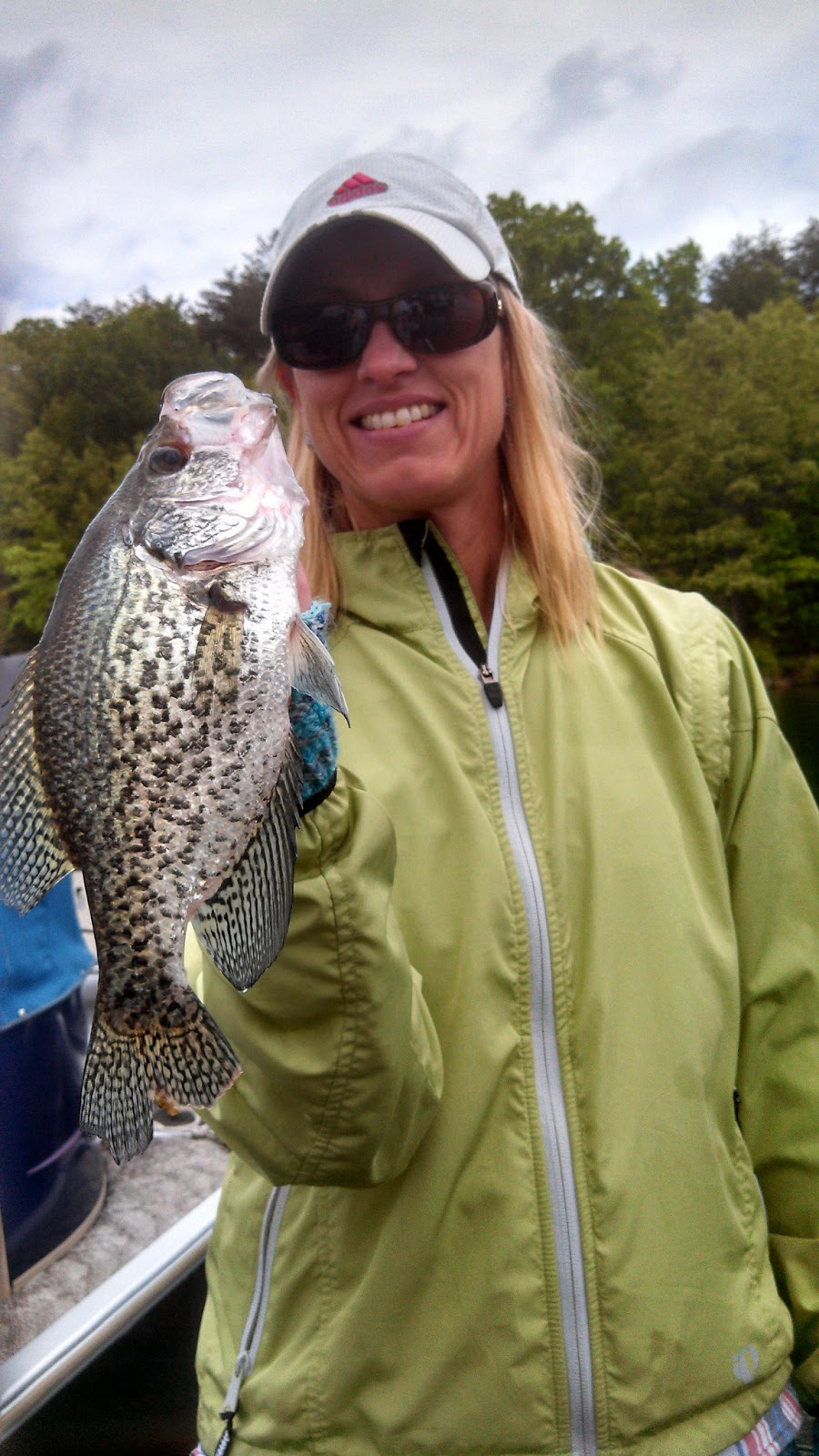 Brian oxendine still catching crappie chris craft lake for Lake anna fishing report