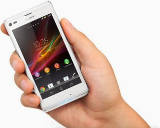 Sony Xperia L Blanc Smartphone 4.3 Pouces