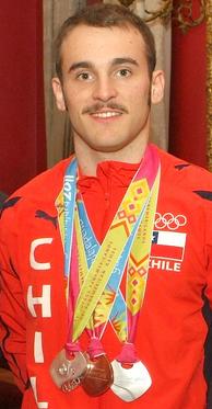Tomas Gonzalez Chilean gymnast