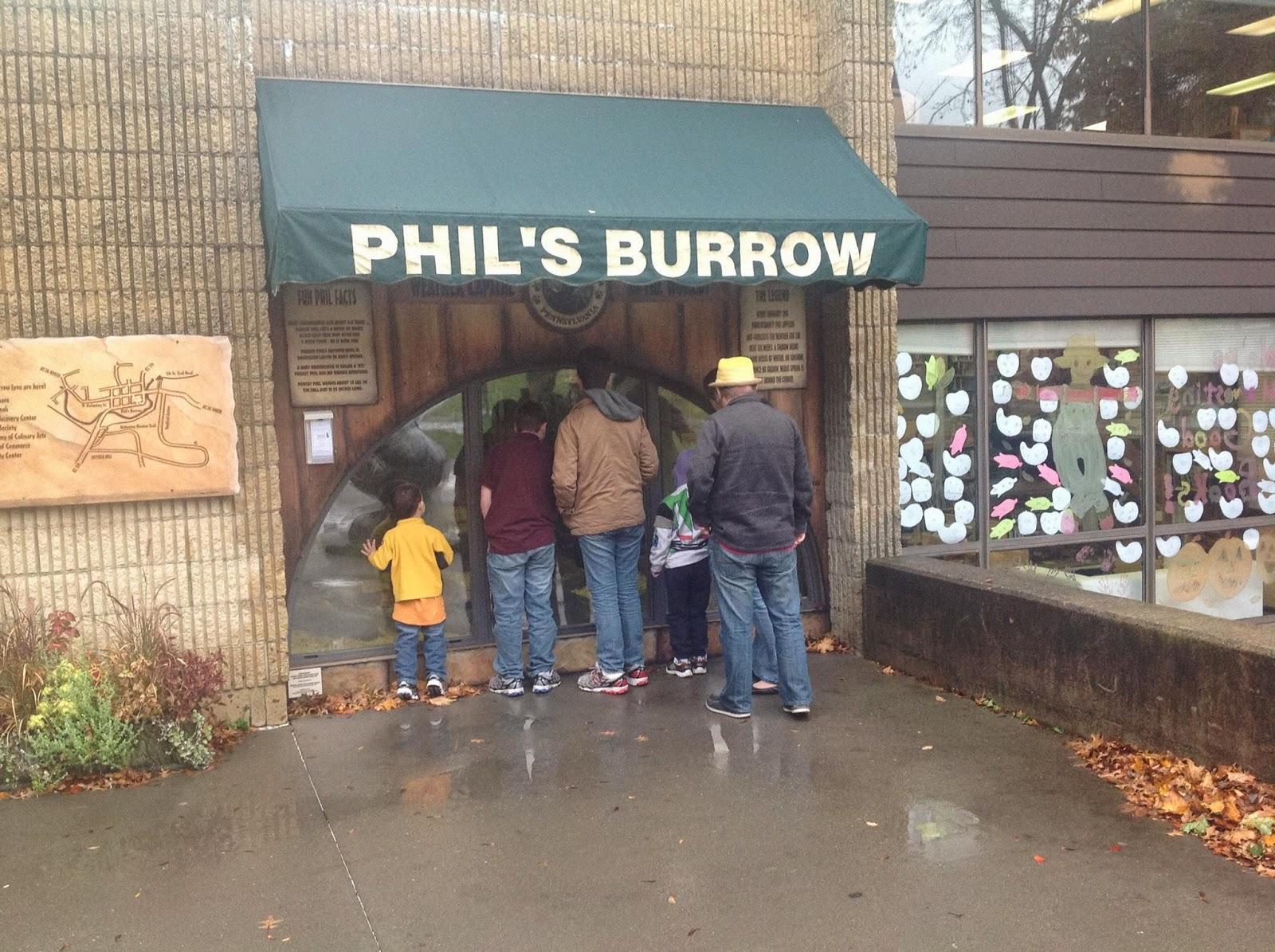 Punxsutawney Phil's Burrow