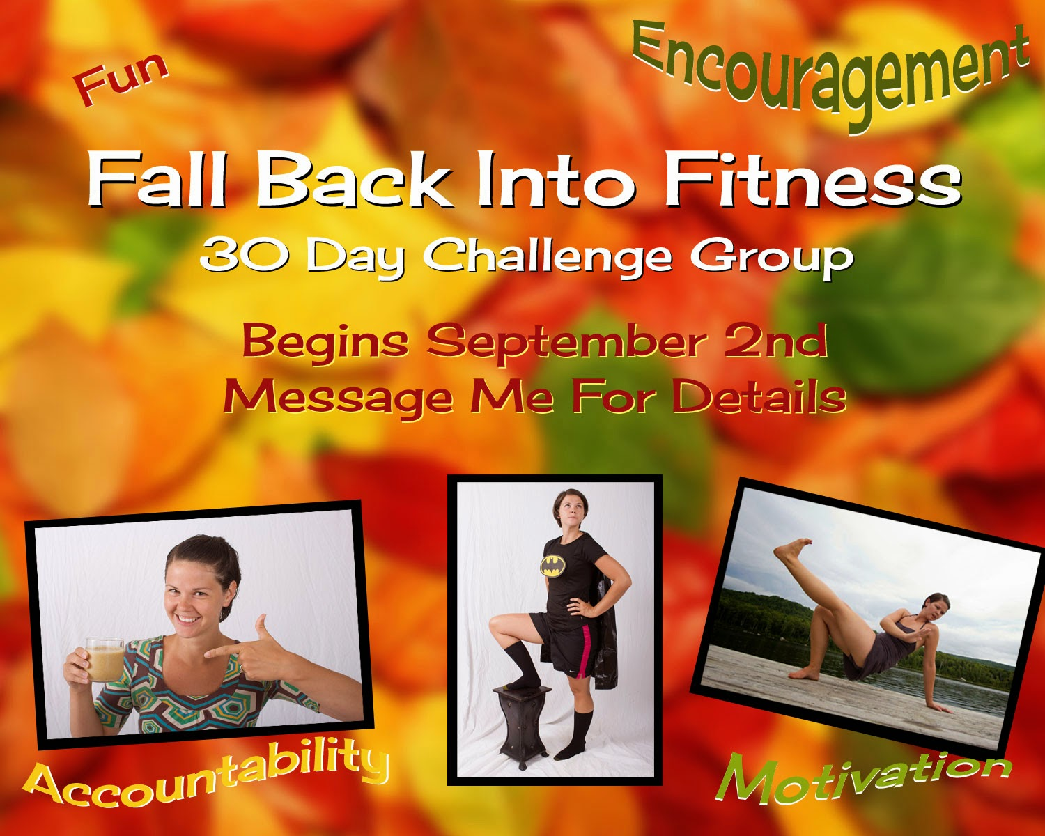 Fall Back Into Fitness Challenge Group