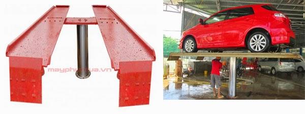 cầu nần, cầu nầng 1 trụ, cầu nâng rửa xe, cầu nâng ô tô