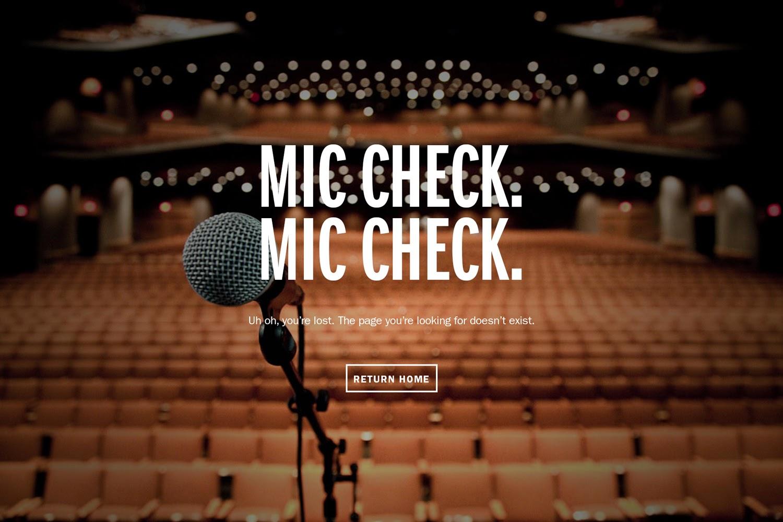 Mic Check 404