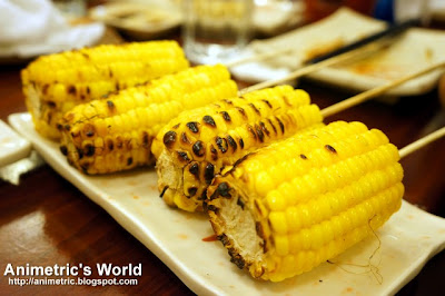 Corn at Yakitori Kitchen, Burgos Circle