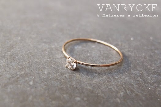 Nouvelle bague Vanrycke solitaire King One