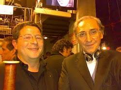 Vitaliano Gallo e Franco Battiato