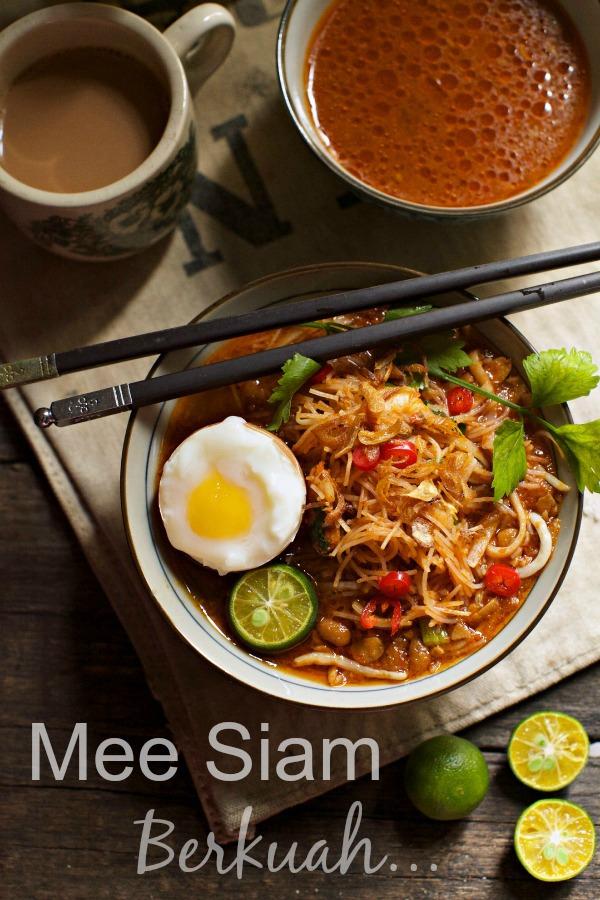Mee Siam Berkuah Masam Manis