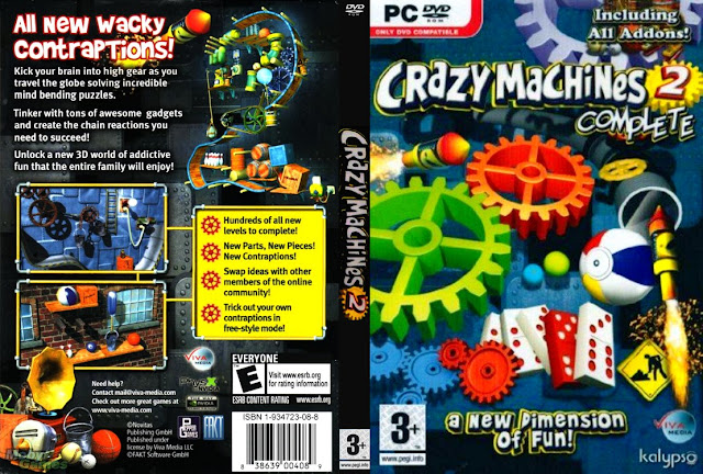 Crazy Machines 2: Complete (2011/Eng/Pc/Лицензия)